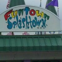 Photo taken at Funtown Splashtown USA by Tim J. on 8/5/2012