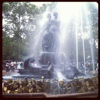 Photo taken at Grand Army Plaza by Megan K. on 9/3/2012