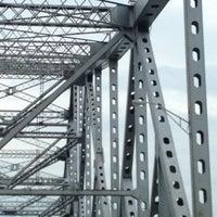 Photo taken at Tappan Zee Bridge by Tracy O. on 7/28/2012