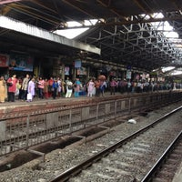 Photo taken at Dadar Railway Station by Nikhilesh U. on 6/26/2012