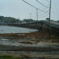 Photo taken at Cribstone Bridge by Carolyn B. on 8/7/2011