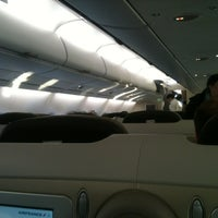 Photo taken at Air France - Flight AF 7 by Ibrahim B. on 4/5/2012