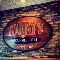 Photo taken at TooJay's Gourmet Deli by Alex G. on 2/28/2012
