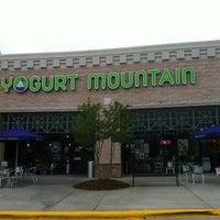 Photo taken at Yogurt Mountain by Jennifer M. on 7/1/2012