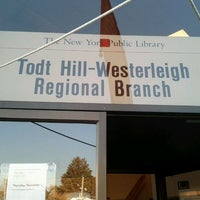 Photo taken at New York Public Library - Todt Hill-Westerleigh by Katherine D. on 11/2/2011