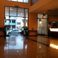 Photo taken at Hotel Sentral Seaview by Dan L. on 4/10/2011