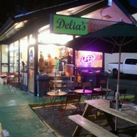 Photo taken at Delia's Chicken Sausage Stand by Vince H. on 7/8/2011