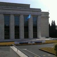 Photo prise au Palais des Nations par C M. le3/7/2012