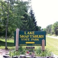 Photo taken at Lake Shaftsbury State Park by Jasen F. on 7/16/2011