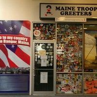 Photo taken at Bangor International Airport (BGR) by Adam C. on 9/4/2012