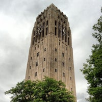Photo taken at Burton Memorial Tower by Adam V. on 5/31/2012