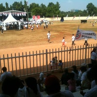 Photo taken at Velodrome Rawamangun by Daniel G. on 7/7/2012