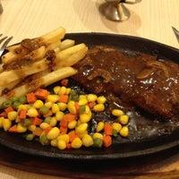 Photo taken at Steak 21 by _syeni_ on 4/22/2012