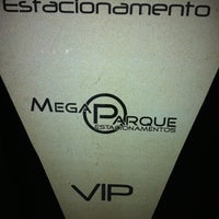 Photo taken at Mega Parque Estacionamento by Felipe D. on 9/19/2011