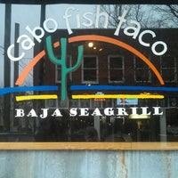 Photo taken at Cabo Fish Taco by Sharon R. on 1/22/2012