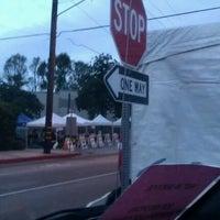 Photo taken at LA Marathon Mile 22 by Krystle G. on 3/18/2012
