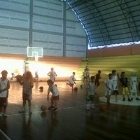 Photo taken at Hall Basket Perbasi Pontianak by Big D. on 11/7/2011