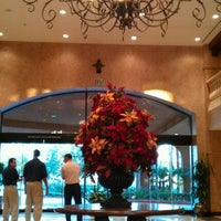 Photo taken at Crowne Plaza Anaheim Resort by Joshua W. on 1/7/2012