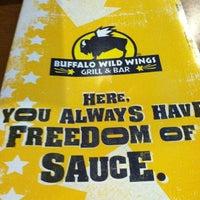 Photo taken at Buffalo Wild Wings by Latifah T. on 1/10/2012