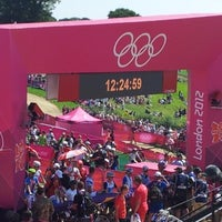 Photo taken at London 2012 venue - Hadleigh Farm by USA TODAY on 8/11/2012