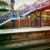 Photo taken at Fulwell Railway Station (FLW) by Benedict S. on 3/18/2012