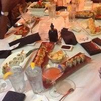 Photo taken at Amura Japanese Restaurant by Fadia on 3/16/2012