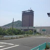 Photo taken at 仁保橋 (Nihobashi Brg.) by yodarekuma on 6/6/2012