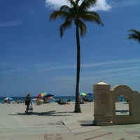 Photo taken at Hollywood Beach Boardwalk by Victoria S. on 4/1/2012