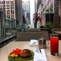 Photo taken at Club Quarters Hotel, opp Rockefeller Center by Francis N. on 6/9/2012