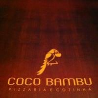 Photo taken at Coco Bambu Pizzaria & Cozinha by Denise P. on 5/11/2012