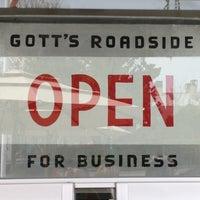 Photo taken at Gott's Roadside by Katie N. on 3/19/2012