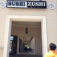 Photo taken at Sushi Zushi by tak on 6/17/2012