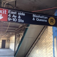 Photo taken at MTA Subway - 4th Ave/9th St (F/G/R) by Karla M. on 6/20/2012