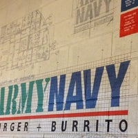 Photo taken at Army Navy Burger + Burrito by Weng T. on 7/11/2012