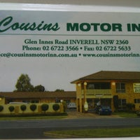 Photo taken at Cousins Motor Inn by Missxstatic on 2/16/2012