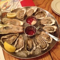 Photo taken at Hank's Oyster Bar by John W. on 5/4/2012