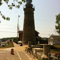 Photo taken at Fairport Harbor Lighthouse & Marine Museum by Scott L. on 7/7/2012