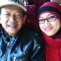 Photo taken at Pool Bus Arimbi/Bima Suci/AJA by Rosa on 5/12/2012