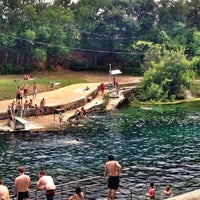 Photo taken at Barton Springs Pool by Athena A. on 7/17/2013