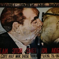 Photo taken at East Side Gallery by Vladislava T. on 5/6/2013