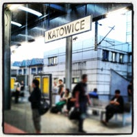 Photo taken at Katowice by Magda M. on 7/4/2013