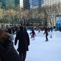 Photo taken at Bank of America Winter Village at Bryant Park by Turnstile Guides on 1/10/2013
