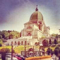 Photo taken at Oratoire Saint-Joseph / Saint Joseph's Oratory by Kastor -. on 10/4/2012
