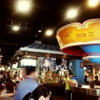 Photo taken at Pier 21 by Eve M. on 12/11/2012