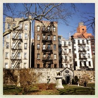 Photo taken at New York City Marble Cemetery by Kate T. on 4/5/2013