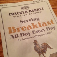 Photo taken at Cracker Barrel Old Country Store by Chris R. on 12/31/2012