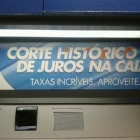 Photo taken at Caixa Econômica Cidade das Flores by Marcelo A. on 2/19/2013