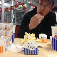 Photo taken at White Castle by Chris on 12/8/2012
