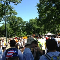 Photo taken at YAI Central Park Challenge by Clayton S. on 6/1/2013