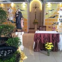 Photo taken at Santuario de San Vicente de Paul by Ferds D. on 11/2/2012